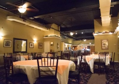 Banquet Room for Private Events in Huntington, WV
